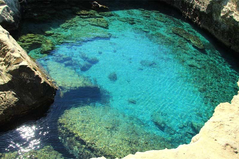 Grotta della Poesia in Puglia