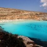 L'isola dei Conigli a Lampedusa